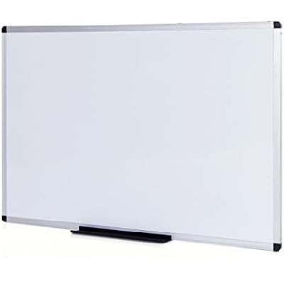 Pizarra Blanca Magnética Con Marco de Aluminio